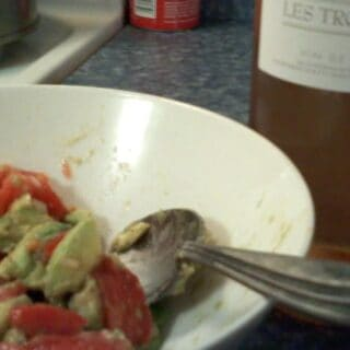 Cilantro & Lime Two Ways, with a Rosé