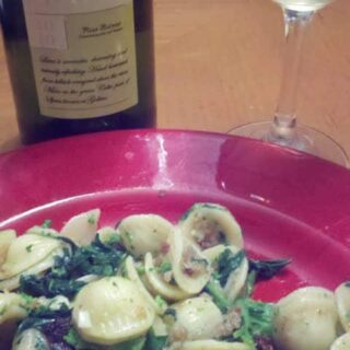 Wine Match for Orecchiette with Broccoli Rabe & Bacon