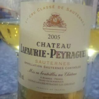 Sweet Treat: A 2005 Sauternes