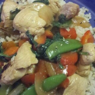 Sunday Supper: Chicken & Veggie Stir-Fry