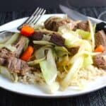 Stir-Fried Steak and Cabbage