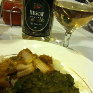 Indian Food Paired with Bulgarian Wine