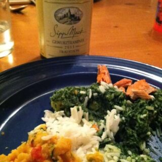 A Great Gewürztraminer for Spicy Indian Food