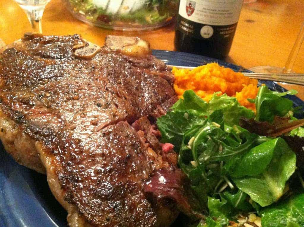 Grilled Steak with Garlic Cumin Rub for #SundaySupper