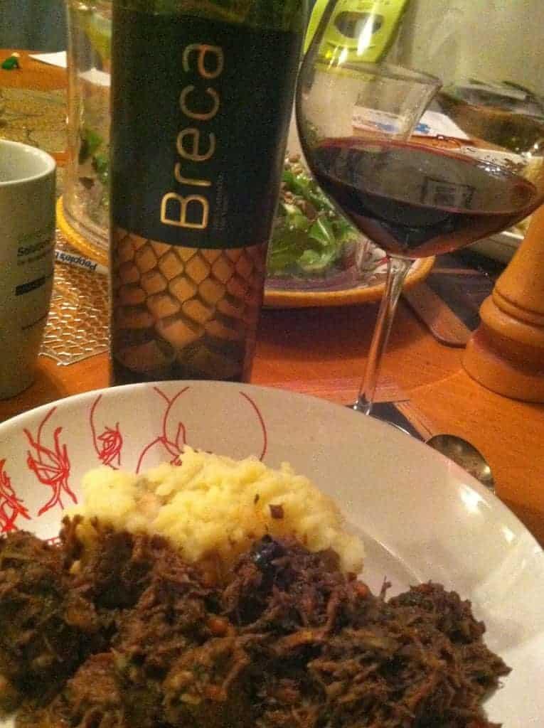 2010 Breca Old Vines Garnacha. Cooking Chat #wine pick.