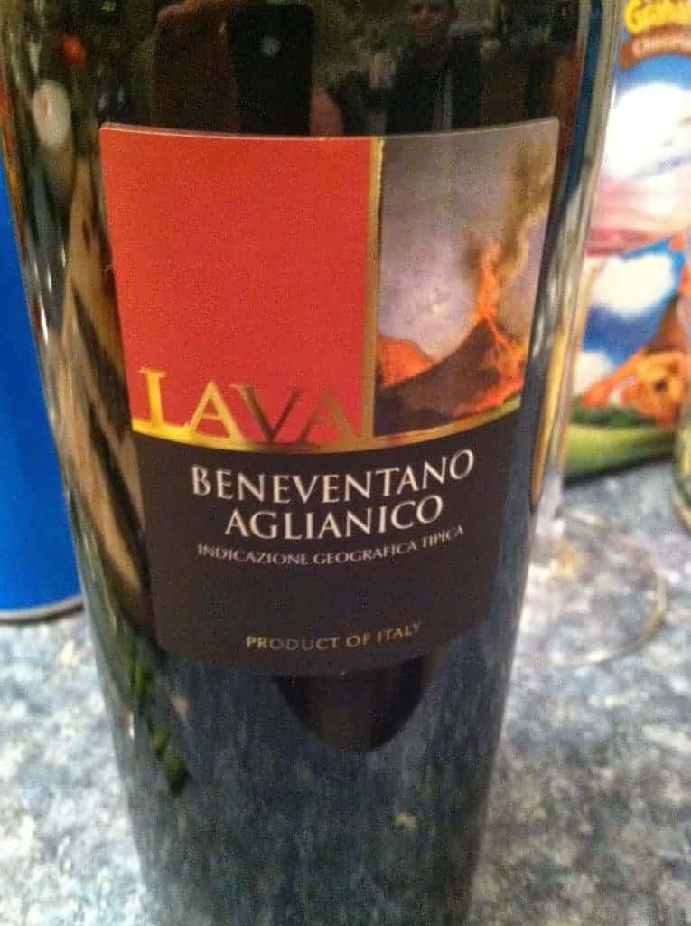 Lava Beneventano Aglianico. A Cooking Chat everyday #wine favorite!