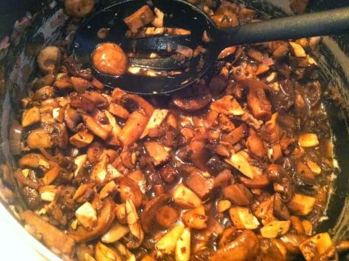Mixed Mushroom Sauce for Salmon. Cooking Chat recipe.