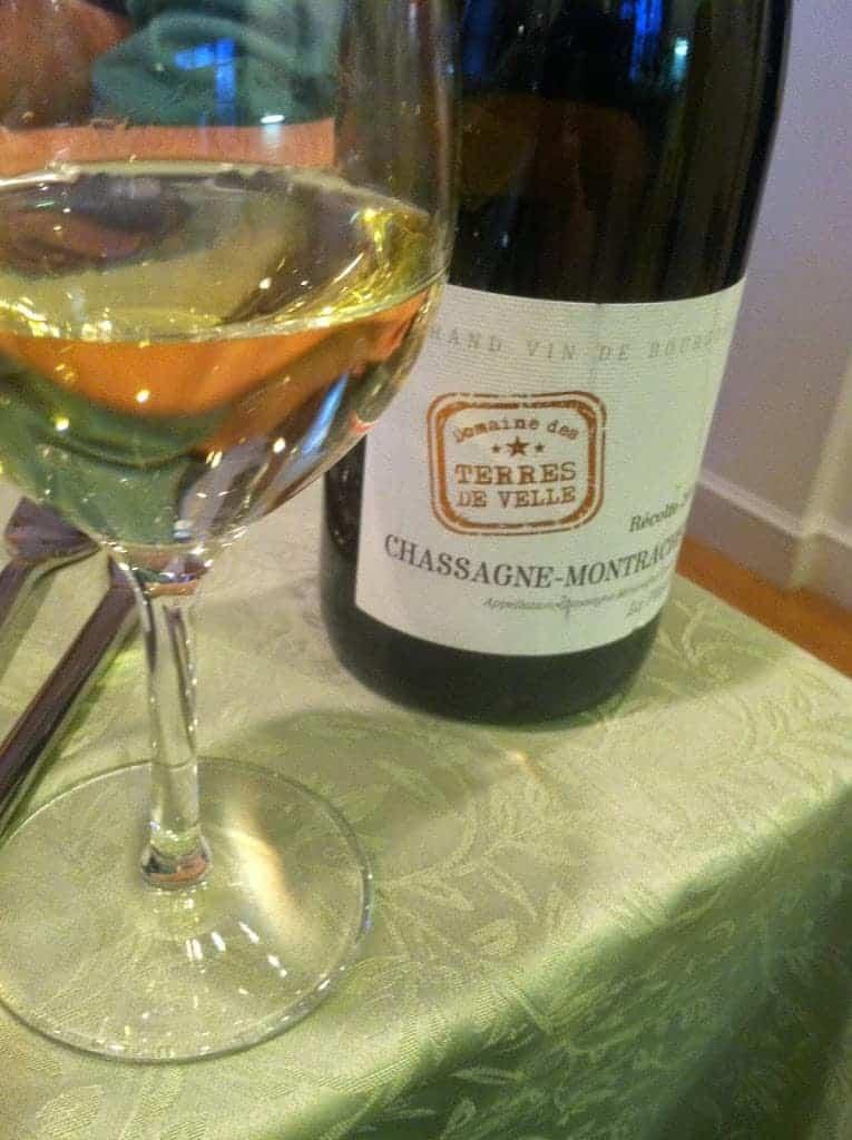 """2011 Domaine des Terres de Velle Chassagne-Montrachet """"La Platiere"""". #wine"""