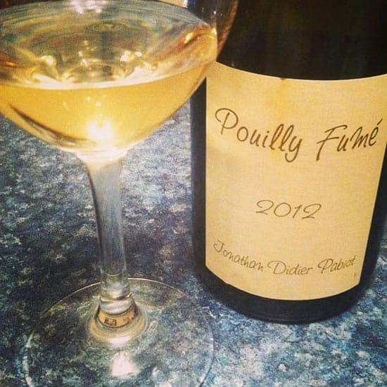 2012 Jonathan Didier Pabiot Pouilly Fumé is a nice expression of this type of wine.
