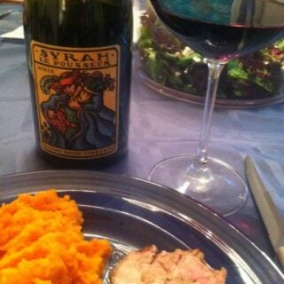 Grilled Pork Tenderloin with a Syrah for Wine Pairing Weekend