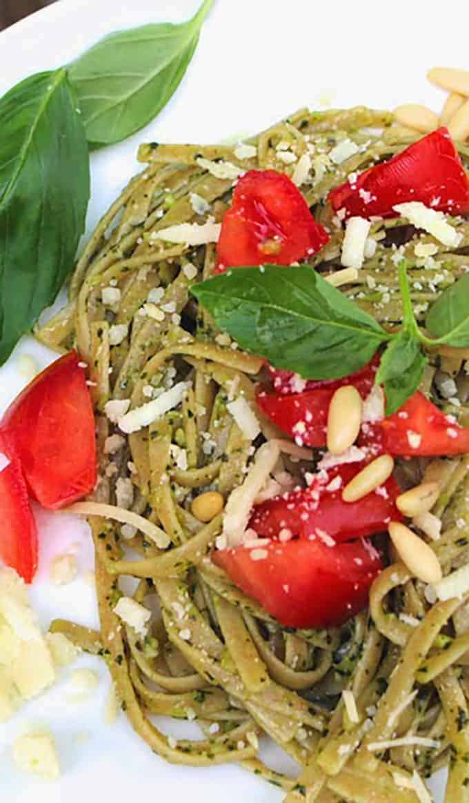 linguine-basil-pesto