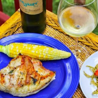 Simply Scrumptious Grilled Chicken Breasts with Garlic Basil Butter