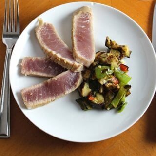 A Paso Pairing: Grilled Tuna with Halter Ranch Syrah for #winePW 4