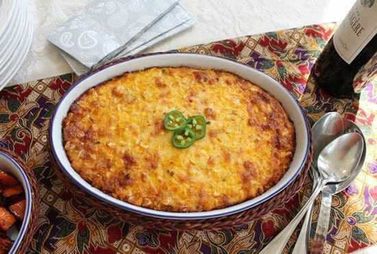 Cheese Jalapeno Corn Casserole