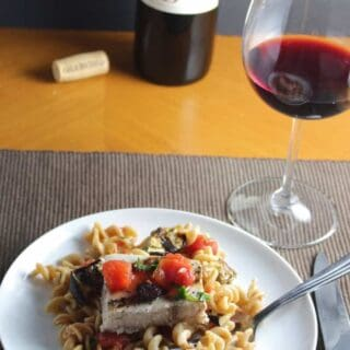 A Valpolicella for Grilled Swordfish and Eggplant Pasta