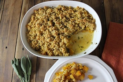 Butternut Squash Crumble from the Texan New Yorker