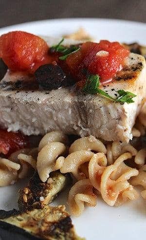 swordfish-eggplant-pasta