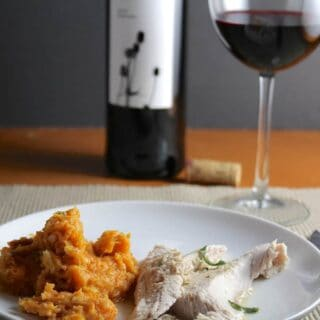 Turkey, Tempranillo and Sweet Potatoes for a Creative Thanksgiving #winePW