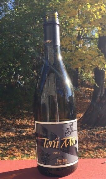 Torii Mor Willamette Valley Pinot Noir. Excellent wine!