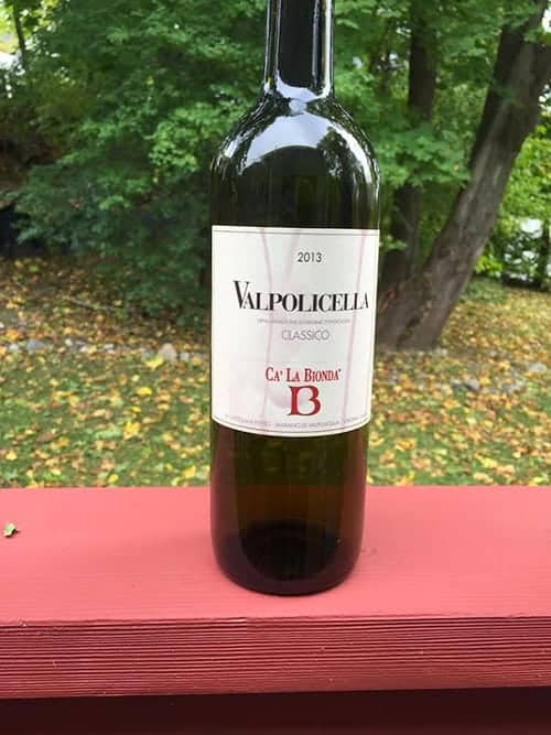 Valpolicella to served with Grilled Swordfish and Eggplant Pasta