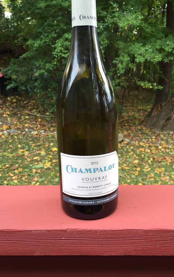 2012 Champalou Vouvray, a Cooking Chat holiday wine pick