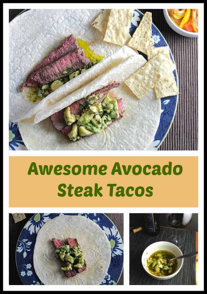 Take your taco night to another level with these Awesome Avocado Steak Tacos!