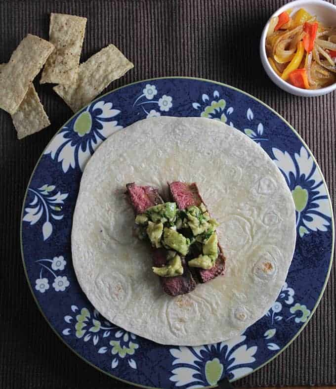Avocado Steak Tacos for #SundaySupper