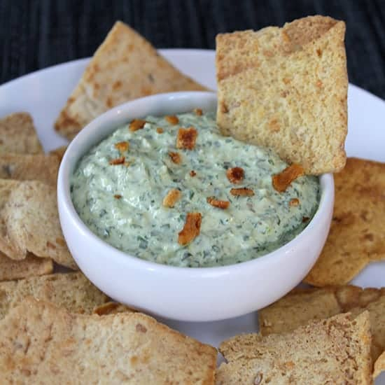 Bacon and Greens Dip from Cooking Chat.