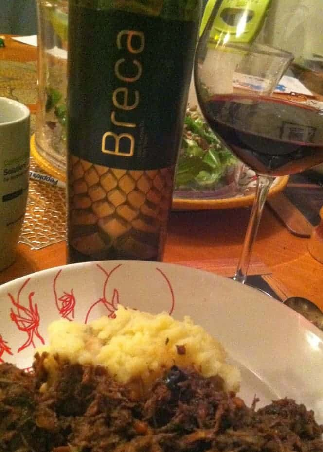 2010 Breca Garnacha, a Cooking Chat holiday pick
