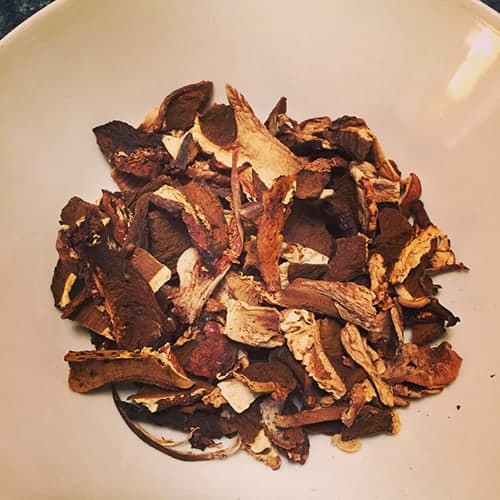 Dried Porcini Mushrooms for Cooking Chat risotto recipe.