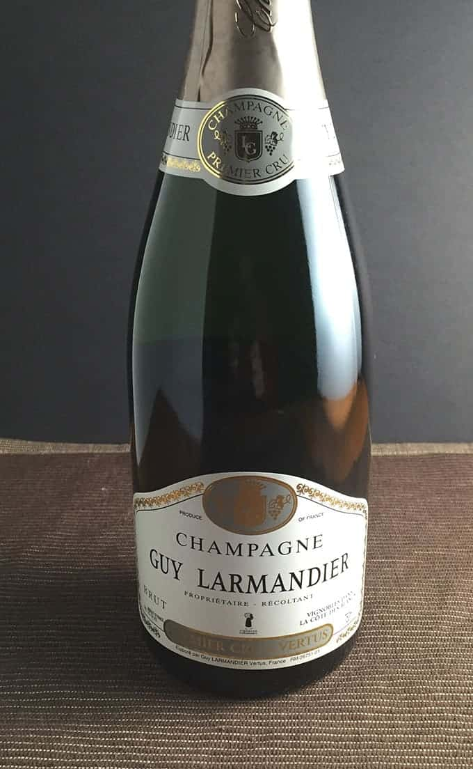 Guy Larmandier Premier Cru Champagne, a Cooking Chat Wine Pick for Holiday Giving