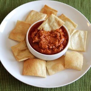 Muhammara Spicy Red Pepper Dip
