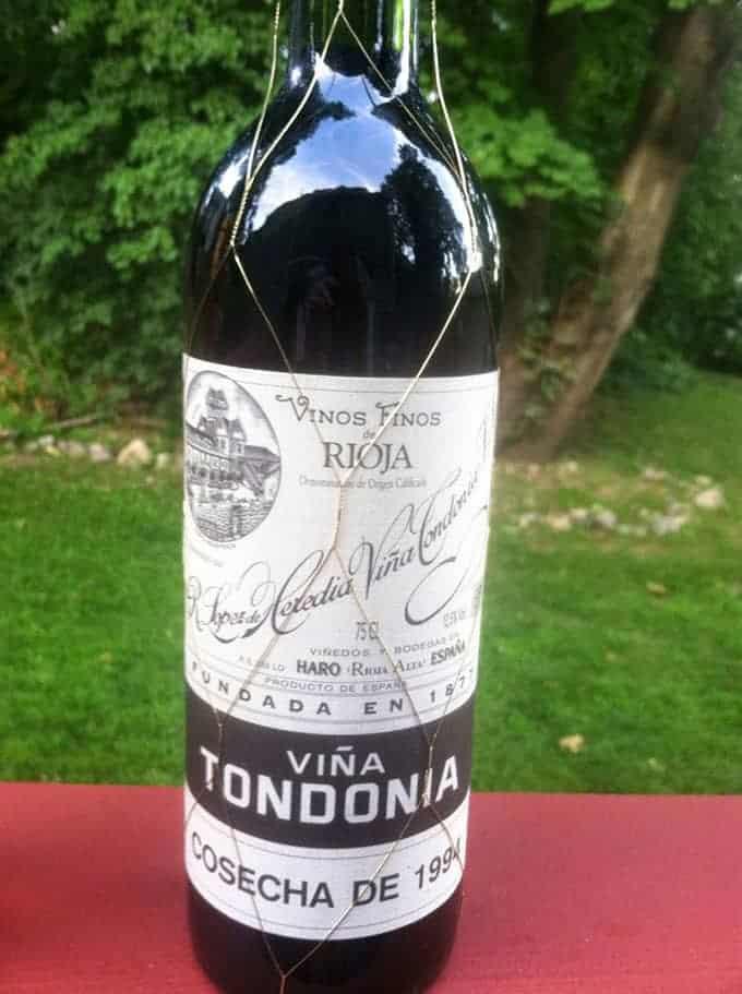 1994 Lopez de Heredia Tondonia Rioja