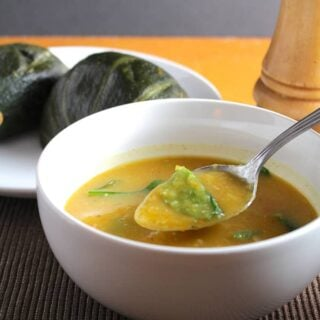 Roasted Winter Squash and Garlic Soup
