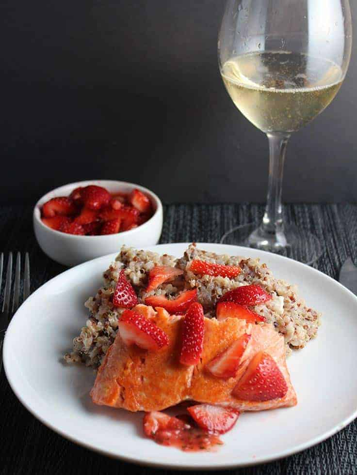 salmon-strawberries-champagne