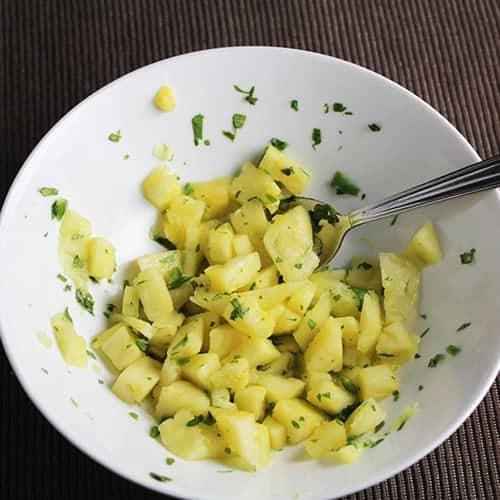 pineapple salsa for mahi mahi.