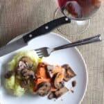 Salmon with Mushroom Sauce for #SundaySupper