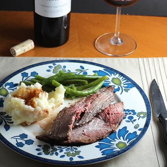 spoon roast with horseradish cream. Cooking Chat recipe.
