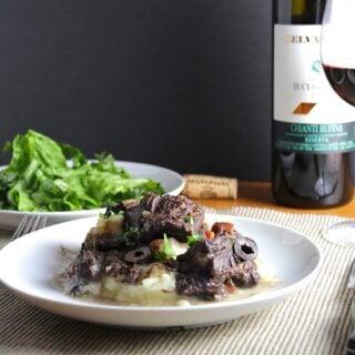 Tuscan Beef Stew #ItalianFWT