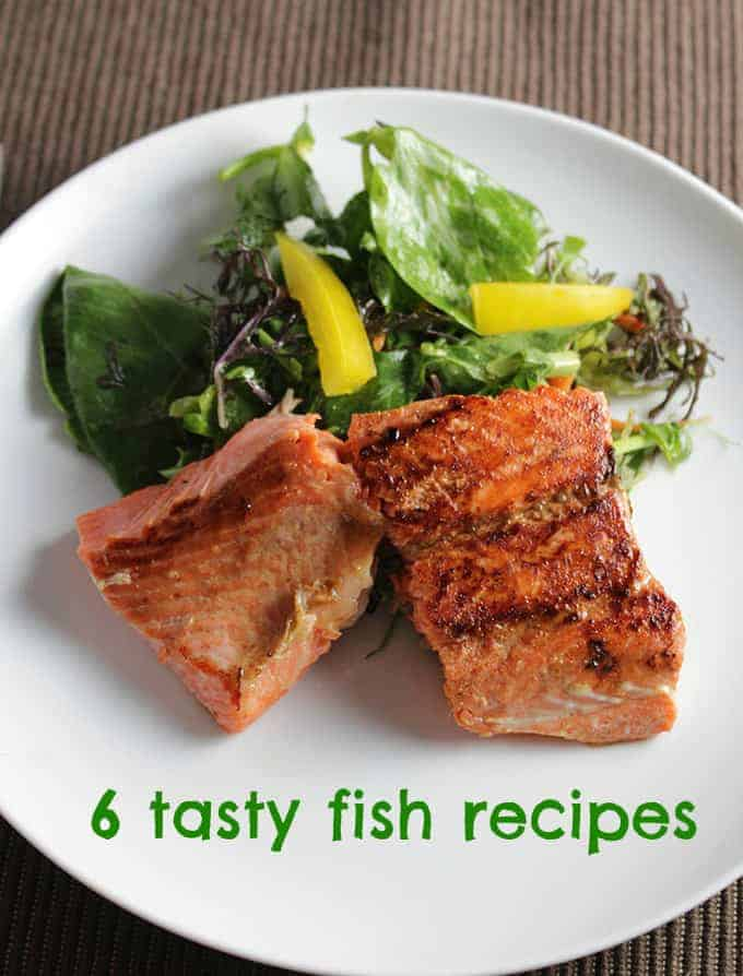 Six Tasty Fish Recipes from Cooking Chat.