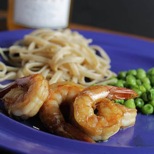 Simple Sauteed Shrimp is a tasty and super easy seafood recipe from Cooking Chat