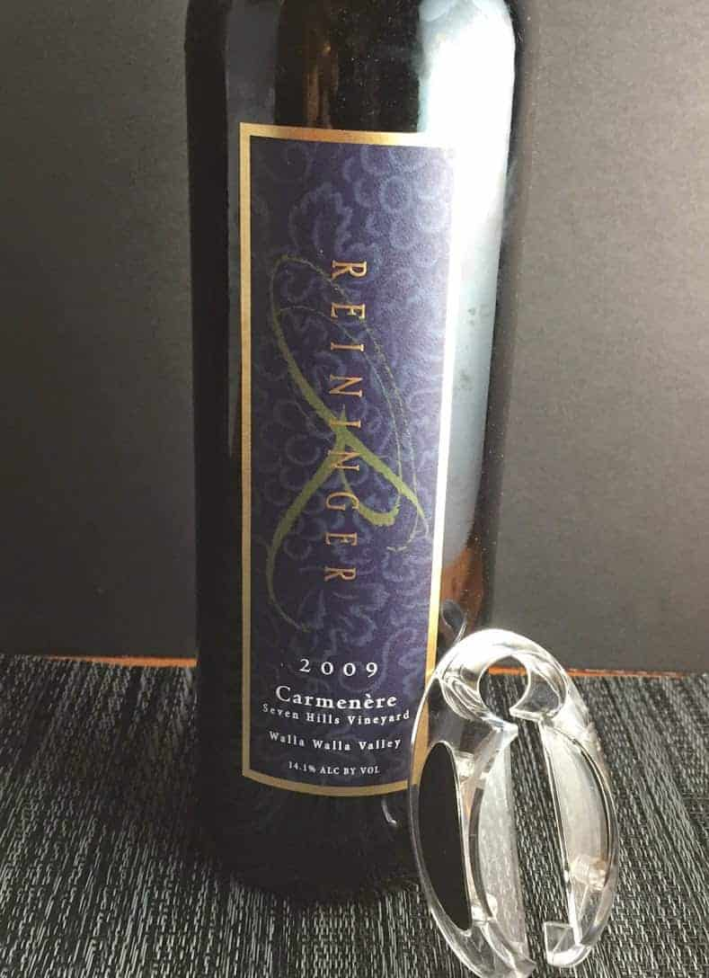 2009 Reininger Carmenere from Seven Hills Vineyard in Walla Walla Valley is a special wine.