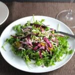 Tuscan Arugula Salad from Cooking Chat.