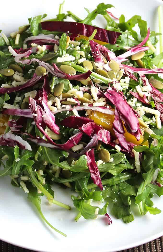 Tuscan Arugula Salad, a Cooking Chat recipe.