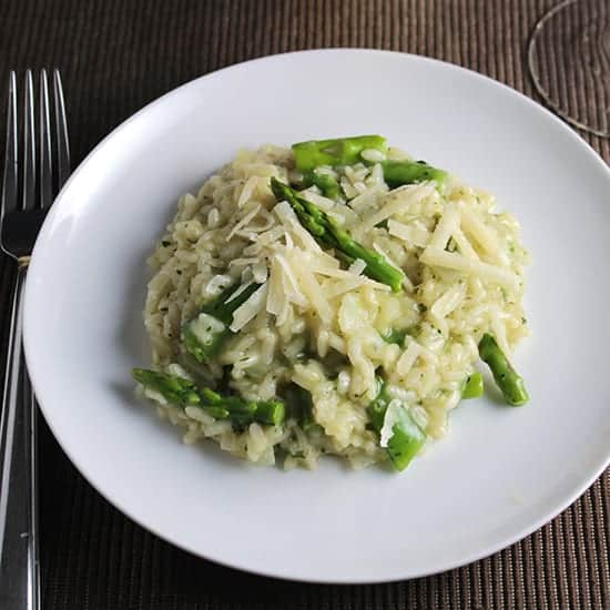 Cooking Chat's Early Spring Risotto
