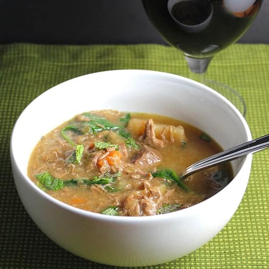 Slow Cooker Irish Lamb Stew recipe.