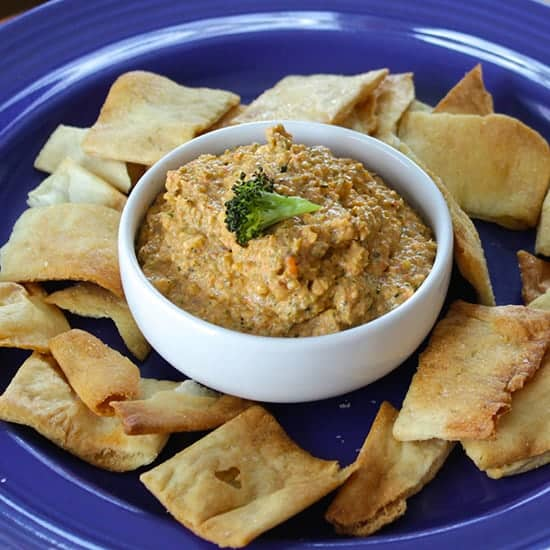Roasted Broccoli Dip from Cooking Chat