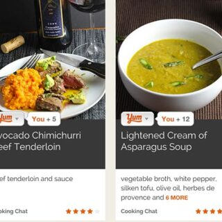 Cooking Chat Now Publishing on Yummly
