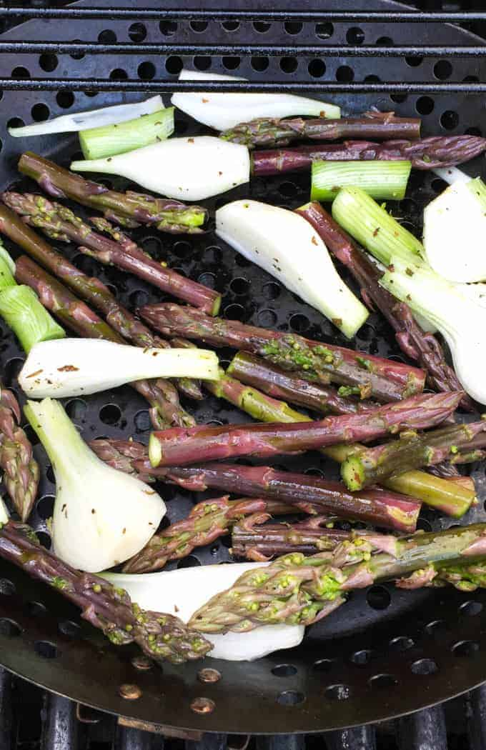 Grilled Asparagus with Onions recipe.