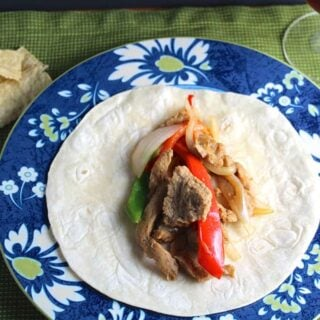 Sizzling Seitan Fajitas for #WeekdaySupper